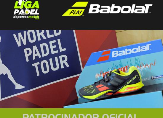 Babolat nuevo patrocinador de la Liga Padel deportesmatch