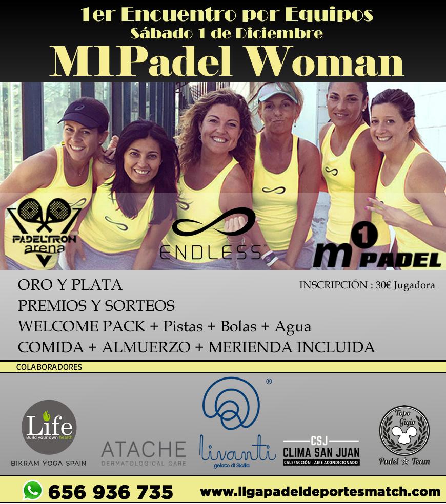 1er Encuentro M1Padel Woman