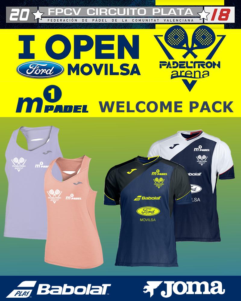 Welcome pack Torneo federado